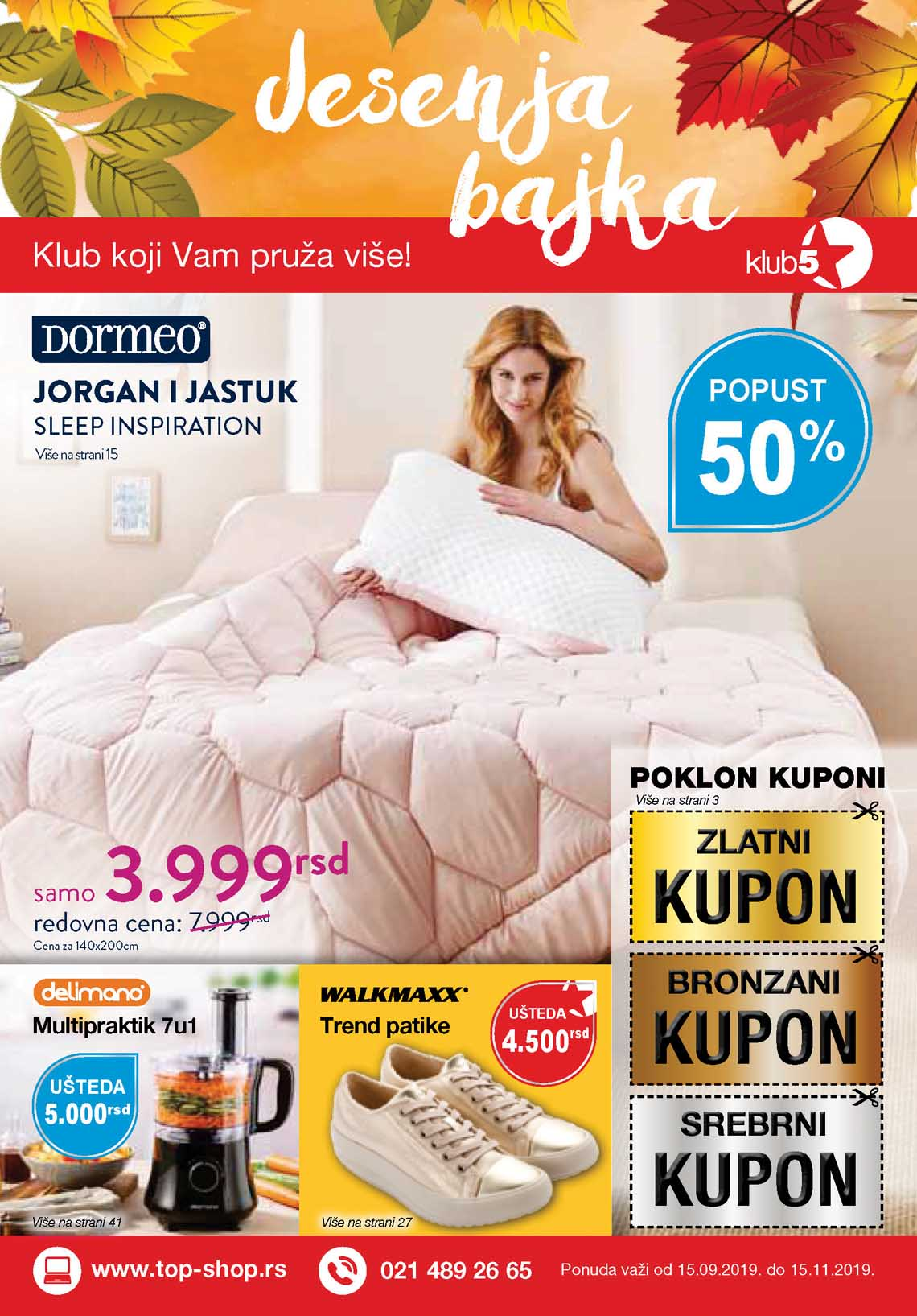 TOP SHOP DORMEO  KATALOG AKCIJA