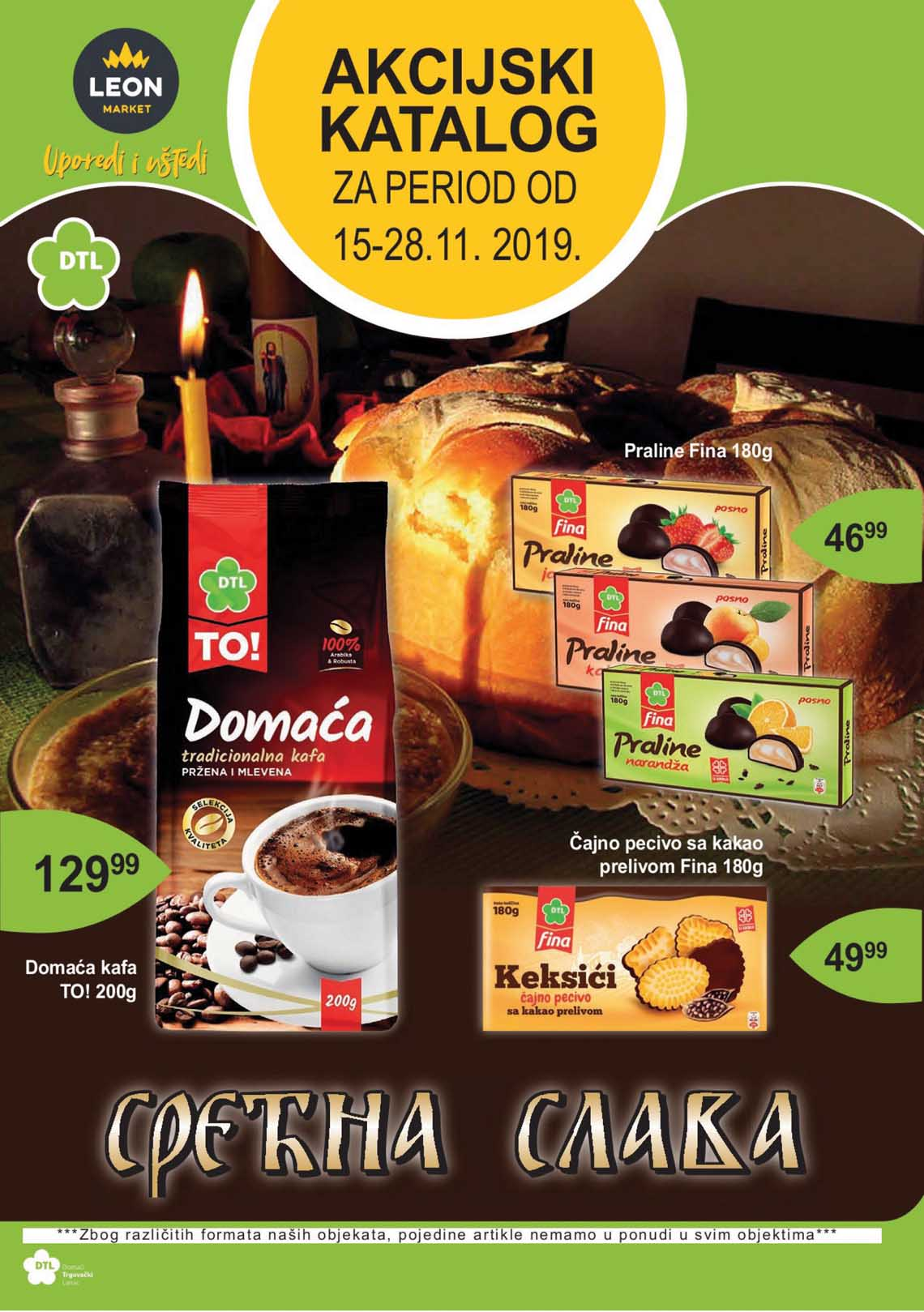 LEON MARKET Katalog - Super akcija do 28.11.2019.