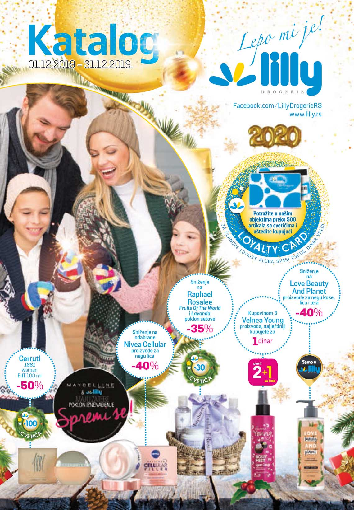 LILLY DROGERIE Katalog - Super akcija do 31.12.2019.
