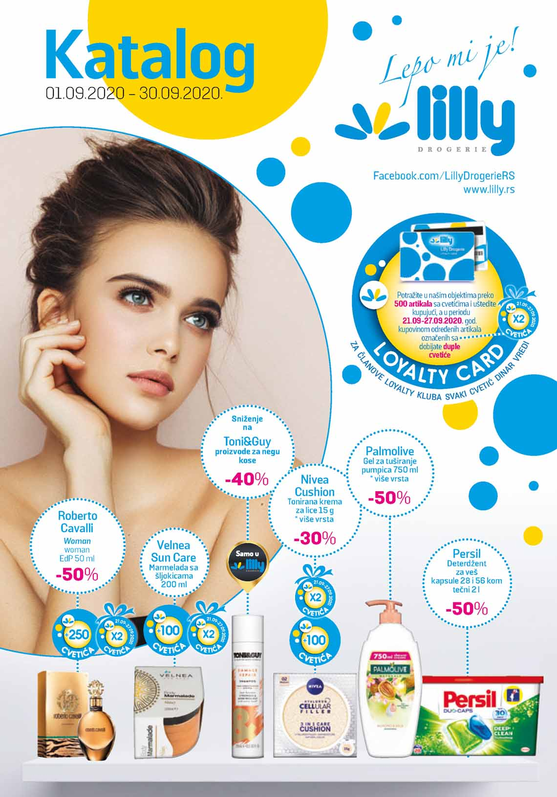 LILLY DROGERIE Katalog - Super akcija do 30.09.2020.