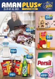 AMAN PLUS MARKETI KATALOG - Akcija do 07.02.2021.