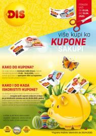 DIS - KUPON VRIJEDI NOVAC ŠTEDI - AKCIJA KUPONA / SNIŽENJA - Akcija do 15.04.2020.
