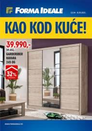 FORMA IDEALE KATALOG - KAO KOD KUĆE! - Akcija do 08.05.2021.