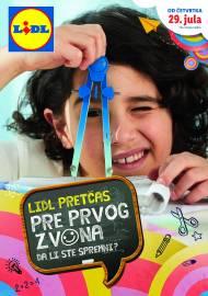 LIDL Katalog - PRETČAS - PRE PRVOG ZVONA DA LI STE SPREMNI - Akcija do isteka zaliha