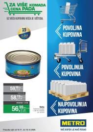 METRO KATALOG - POVOLJNA KUPOVINA - VAŠ USPJEH JE NAŠ POSAO - Akcija do 16.12.2020.