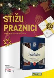 METRO KATALOG - STIŽU PRAZNICI - Akcija do 02.12.2020.
