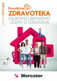MERCATOR AKCIJA - PORODIČNA ZDRAVOTEKA - Super akcija do 26.06.2021.