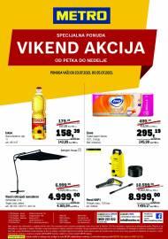 METRO - VIKEND AKCIJA - Akcija do 25.07.2021.