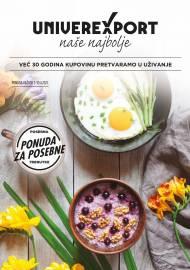UNIVEREXPORT PREMIUM KATALOG - Akcija sniženja do 30.04.2021.