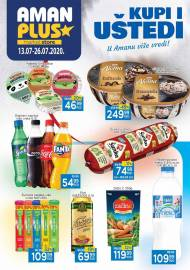 AMAN PLUS MARKETI KATALOG - Akcija sniženja do 26.07.2020.