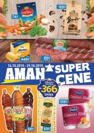 AMAN MARKETI KATALOG - SUPER CENE - Akcija do 29.10.2019.