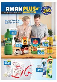 AMAN PLUS MARKETI KATALOG - Akcija sniženja do 14.06.2020.