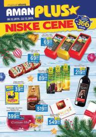 AMAN PLUS MARKETI KATALOG - NISKE CENE - Akcija do 22.12.2019.