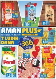 AMAN / AMAN PLUS MARKETI - Super akcija sniženja do 16.02.2020.