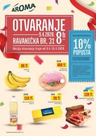 AROMA KATALOG! - OTVARANJE - RAVANIČKA br.31 - Akcija sniženja do 19.04.2020.