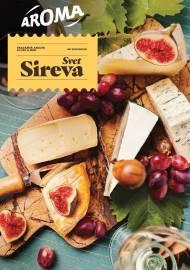AROMA AKCIJA SVET SIREVA - SVAKI DAN JE POSEBAN! - Akcija sniženja do 30.11.2019.