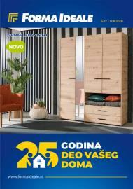 FORMA IDEALE KATALOG - 25 GODINA VAŠEG DOMA! - Akcija do 01.08.2020.