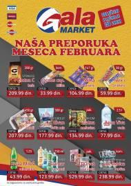 GALA MARKET Katalog - Super akcija do 29.02.2020.