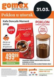 GOMEX VIKEND - KUPI ME U UTORAK - Akcija za 31.03.2020.