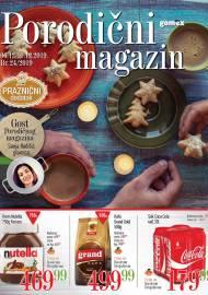 GOMEX Katalog - PORODIČNI MAGAZIN akcija do 19.12.2019.