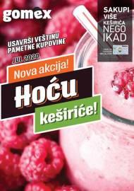 GOMEX Akcija - HOĆU KEŠIRiĆE - Akcija do 31.07.2020.