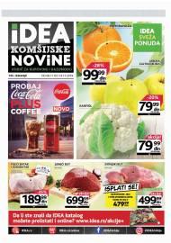 IDEA KOMŠIJSKE NOVINE - akcija do 14.11.2019.