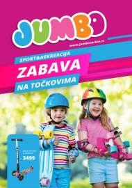 JUMBO - ZABAVA NA TOČKOVIMA - Akcija do isteka zaliha