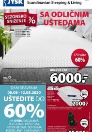 Jysk ponuda - JYSK Katalog - Super akcija od 06.08. DO 19.08.2020.