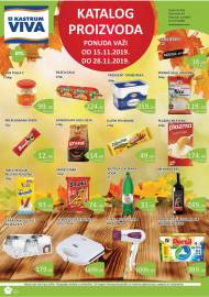 KASTRUM VIVA KATALOG - Akcija do 28.11.2019.