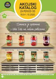 LEON MARKET Katalog - Super akcija do 01.10.2020.