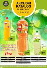 LEON MARKET Katalog - Super akcija do 06.08.2020.