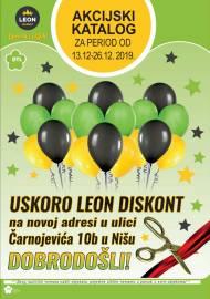 LEON MARKET Katalog - Super akcija do 26.12.2019.