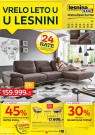 LESNINA Katalog - VRELO LETO U LESNINI - Akcija sniženja do 26.07.2020.