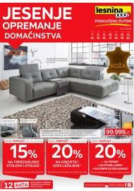 LESNINA Katalog - JESENJE OPREMANJE DOMAĆINSTVA - Akcija  do 20.10.2019.