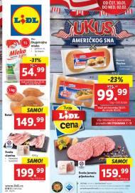 LIDL Katalog! AMERIČKI SAN - Akcija do 02.02.2020.