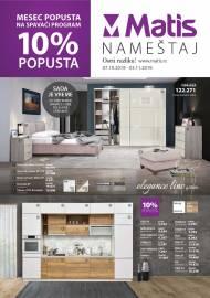 MATIS NAMJEŠTAJ ponuda - MATIS Katalog - Super akcija do 03.11.2019.