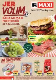 MAXI - JER VOLIM KADA MI MAXI PREPORUČI. Super akcija sniženja do 04.08.2020.