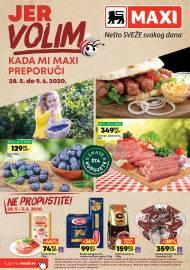 MAXI - JER VOLIM KADA MI MAXI PREPORUČI. Super akcija sniženja do 09.06.2020.