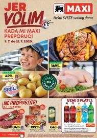 MAXI - JER VOLIM KADA MI MAXI PREPORUČI. Super akcija sniženja do 21.07.2020.