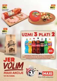 MAXI - JER VOLIM MAXI AKCIJE. Super akcija sniženja do 15.07.2020.