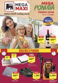 MEGA MAXI KATALOG - MEGA PONUDA - Super akcija sniženja do 09.03.2021.