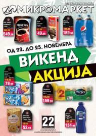 MIKROMARKET - MESTO KOJE VOLIM - VIKEND Akcija do 25.11.2019