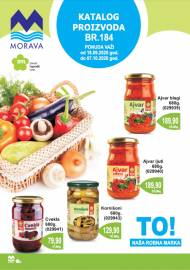 MORAVA MARKETI KATALOG -  Akcija do 07.10.2020.