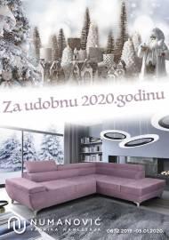 NUMANOVIĆ Katalog - ZA UDOBNU 2020. godinu! Akcija do 05.01.2020.