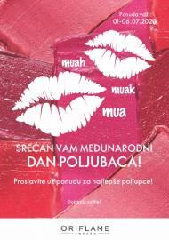 ORIFLAME - SREĆAN VAM MEĐUNARODNI DAN POLJUBACA! Akcija do 06.07.2020