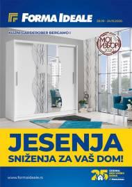 FORMA IDEALE KATALOG - JESENJA SNIŽENJA ZA VAŠ DOM! - Akcija do 24.10.2020.