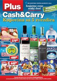 PLUS CASH CARRY AKCIJA - IZUZETNE CENE SVAKI DAN - Akcija do 12.12.2019.