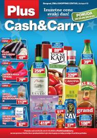 PLUS CASH CARRY AKCIJA - IZUZETNE CENE SVAKI DAN - Akcija do 01.10.2020.