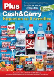 PLUS CASH CARRY AKCIJA - IZUZETNE CENE SVAKI DAN - Akcija do 27.02.2020.