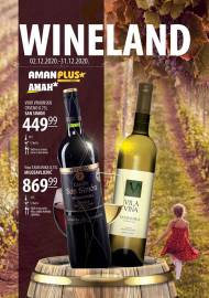 AMAN - AMAN PLUS MARKETI - WINELAND - Akcija do 31.12.2020.